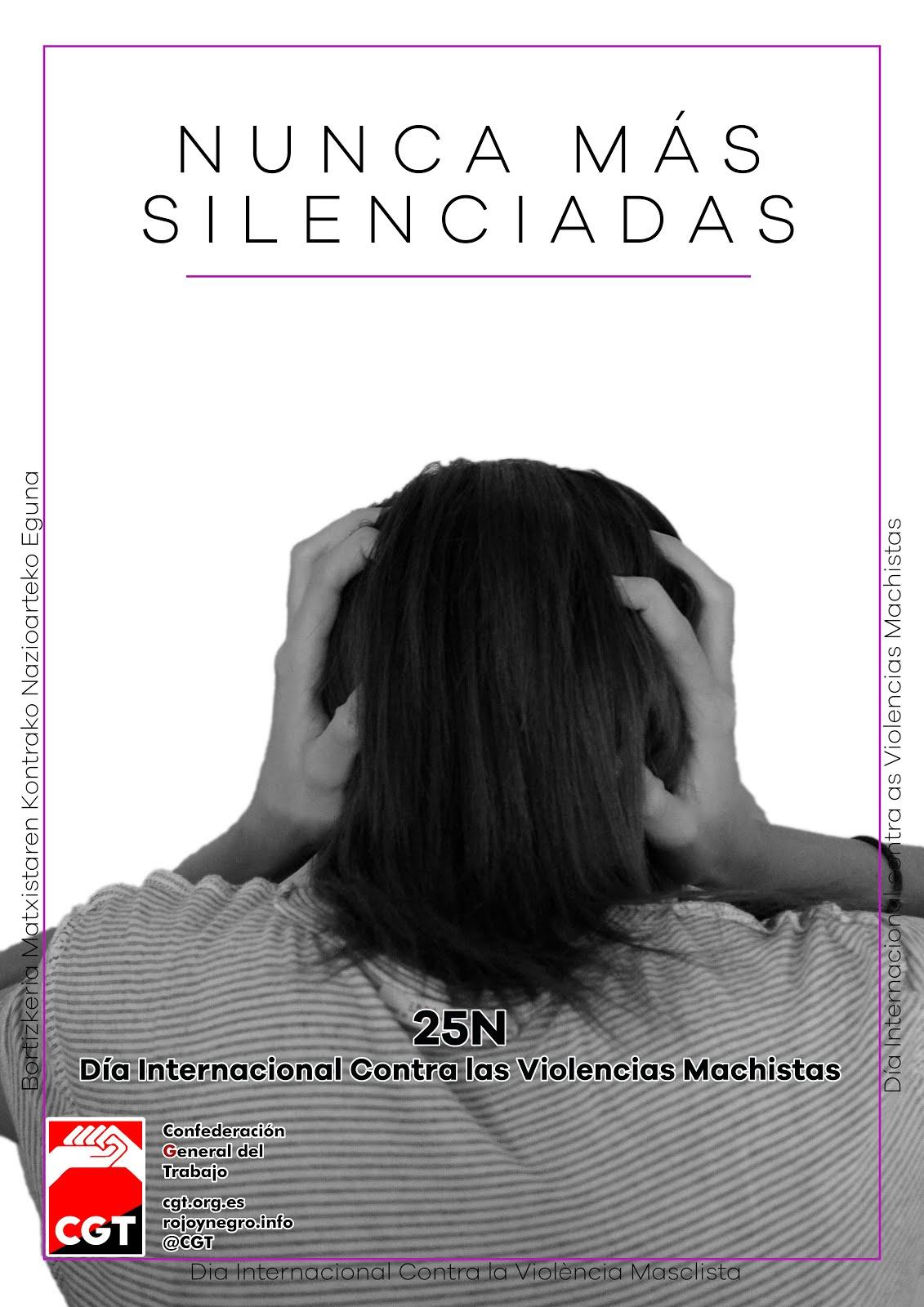 25N: NUNCA MAS SILENCIADAS