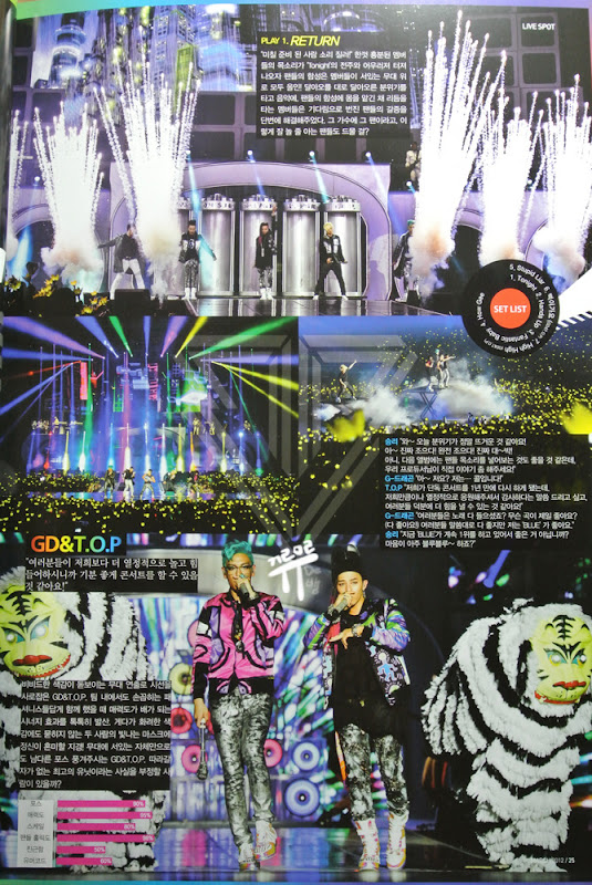 Big Bang Inkigayo Magazine