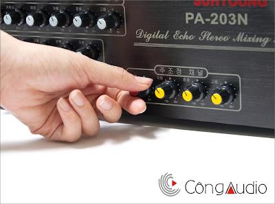Amply Karaoke Jaguar 203N