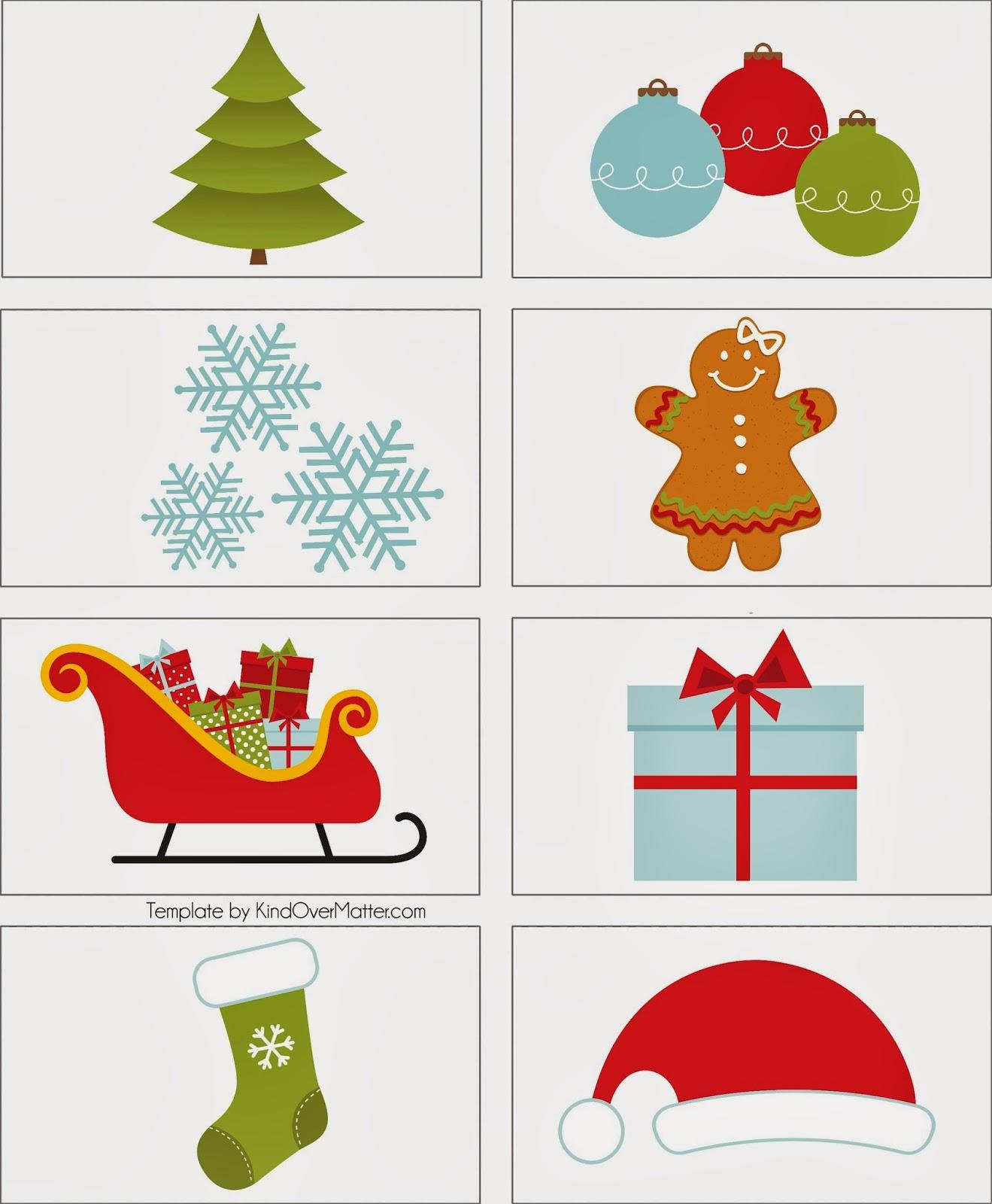 Aparador Sala De Jantar ~ Baú da Web Etiquetas de Natal para imprimir 2013
