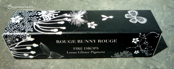 Rouge Bunny Rouge Fire Drops Loose Glitter Pigment: Sleeping Under A Mandarin Tree