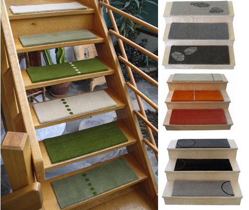 Vintage home decoracion de escaleras modernas for Ideas para forrar escaleras