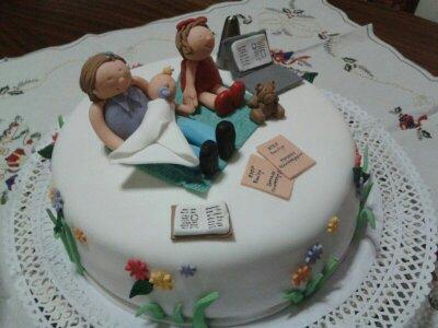 Cupcakes tenerife tarta para otra abuela esta vez muy - Cupcakes tenerife ...