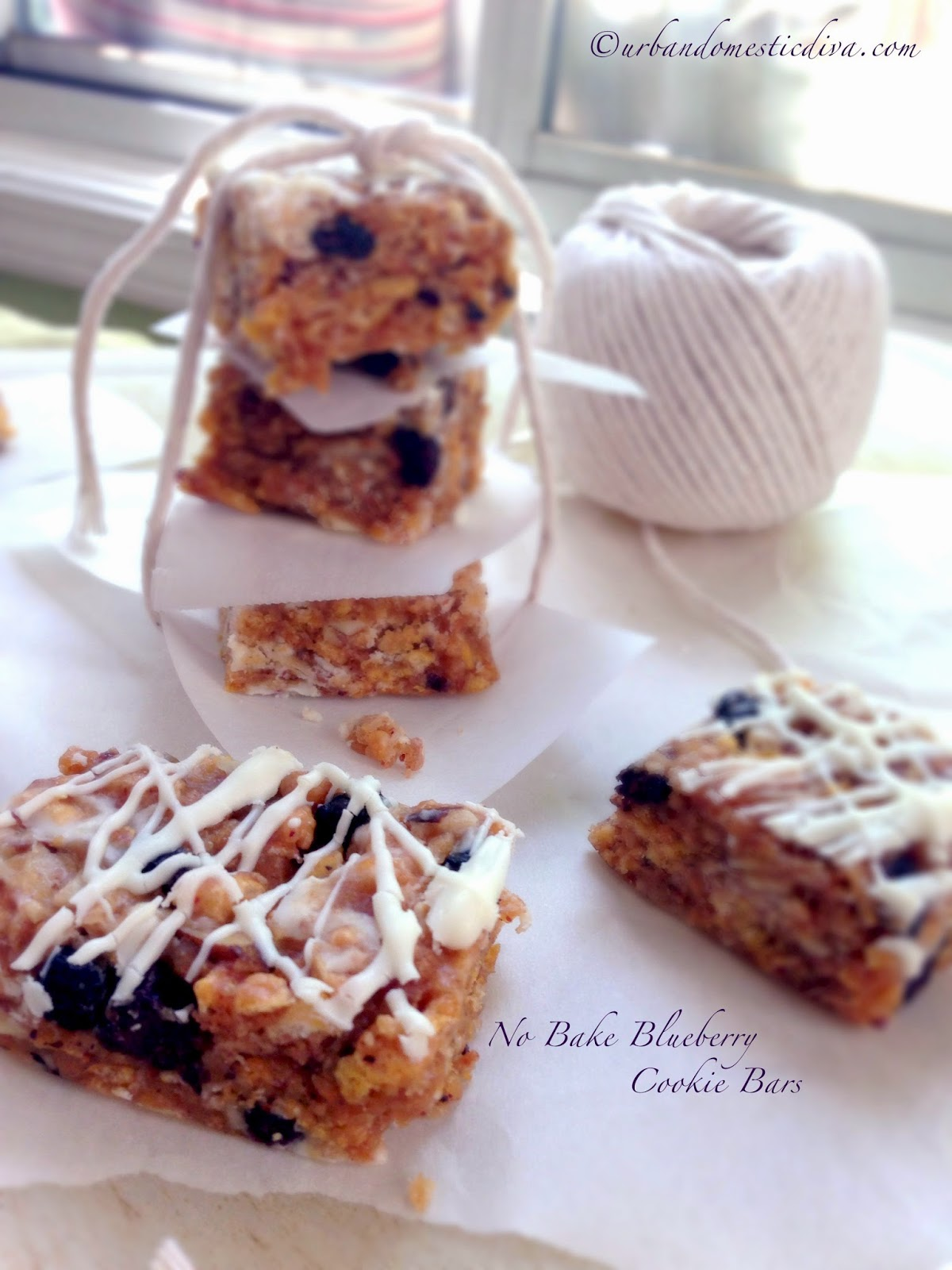Recipe: no bake blueberry cookie bars - Cook and Post