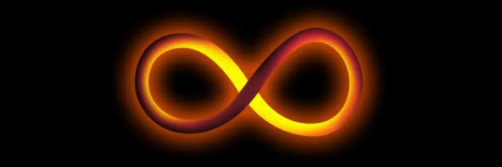 Imagen que alude al INFINITO, un tópico fundamental  en Matemática, Filosofía, Teología, etc.