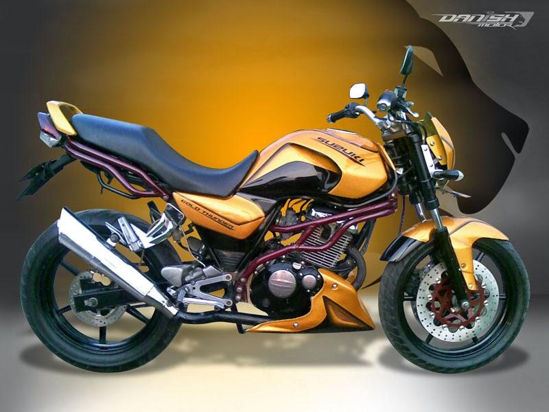 Gambar Modifikasi Suzuki Thunder 125