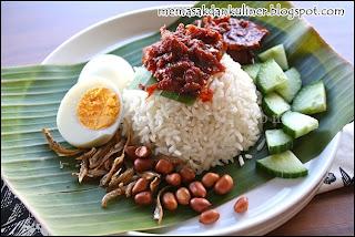 Resep Masakan | Nasi Lemak