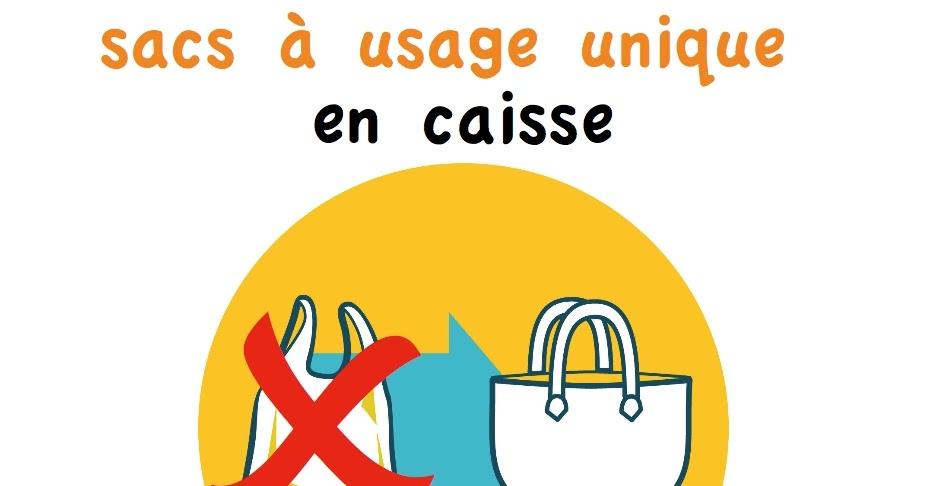 Interdiction Des Sacs Plastiques En 2016 : Pays en ville pensez ? prendre vos sacs r?utilisables