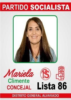 LISTA 86-MARIELA CLIMENTE