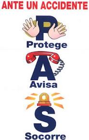 Guía de Autoprotección: Ante un accidente.