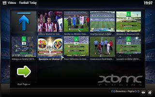Football Today Plugin XBMC
