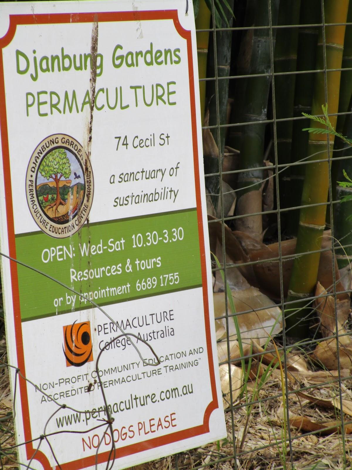 Soil sun soul tour and visit of djanbung gardens for Soil tour dates 2015