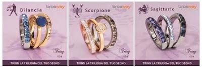 L'oroscopo secondo Brosway Bilancia Scorpione Sagittario