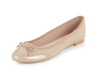 New Look nude ballet flats