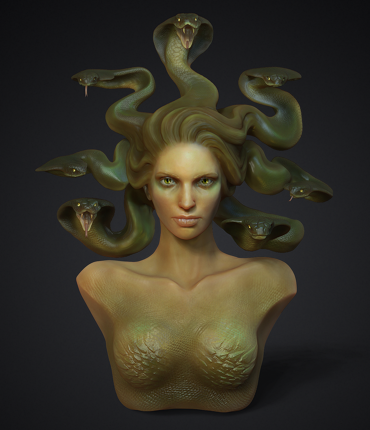 Rendering Images in Zbrush This Final Image Was Rendered