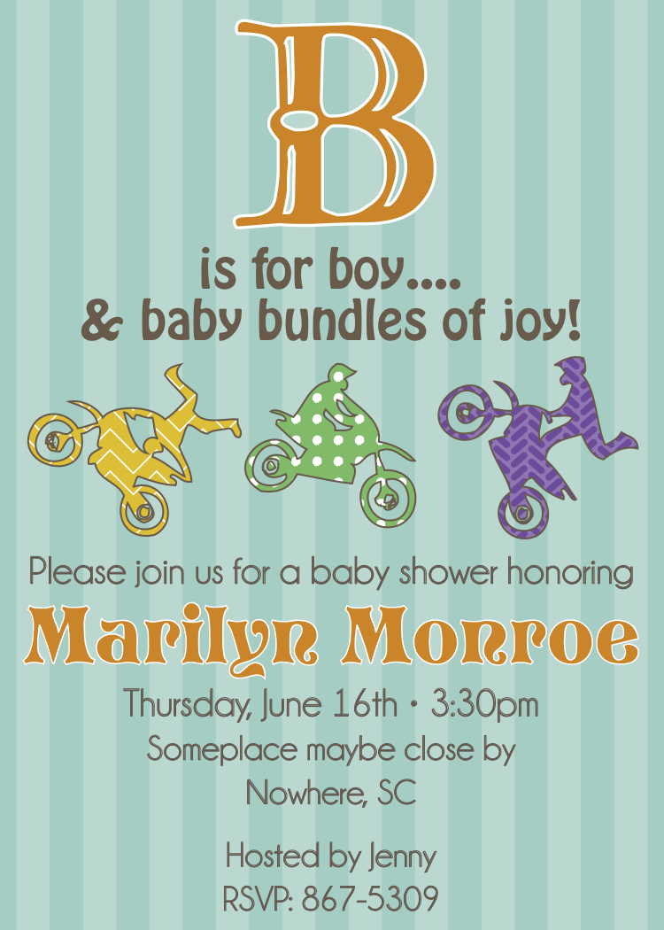 Shower Invitations Baby was amazing invitations sample
