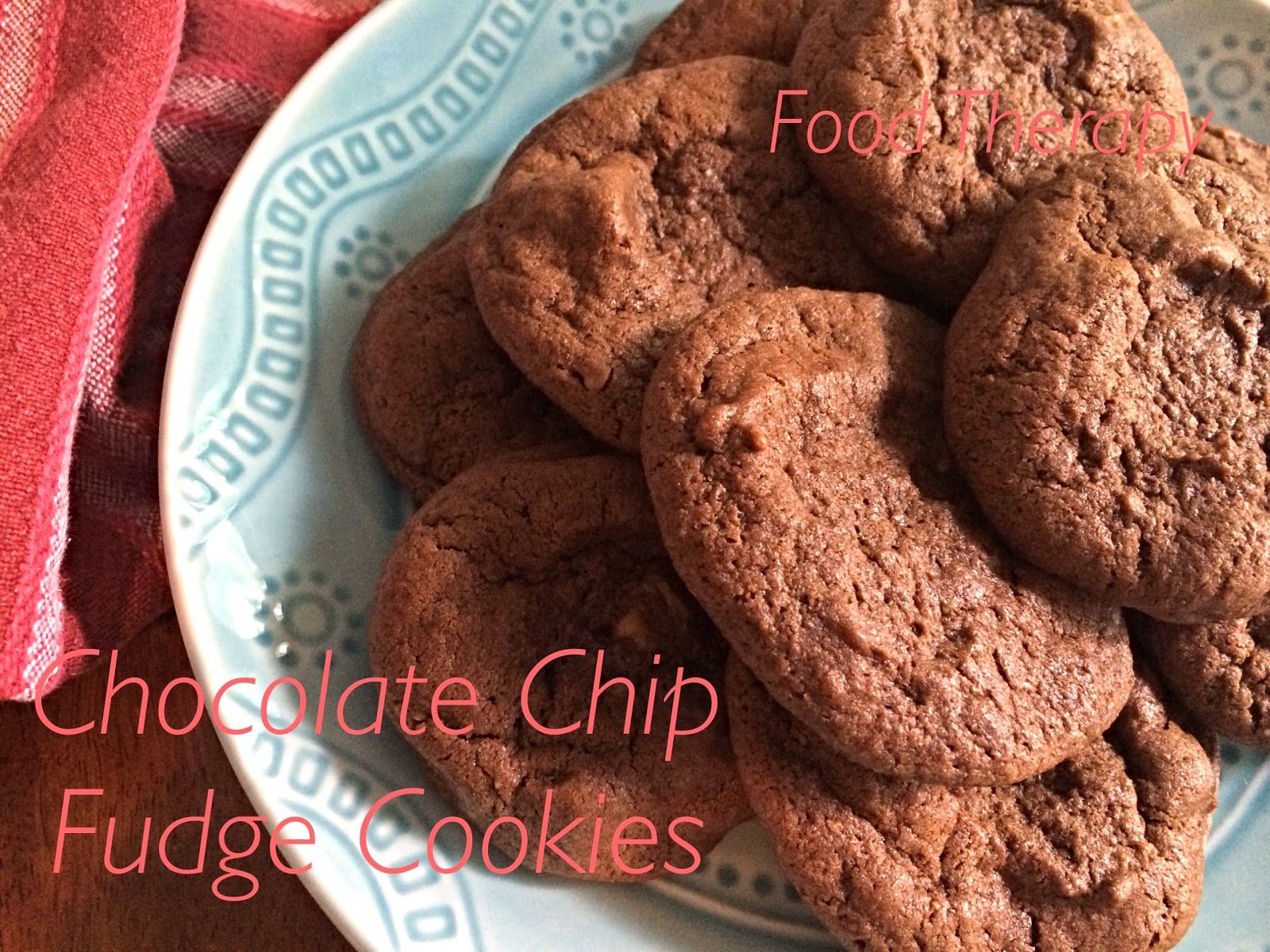 Chocolate Chip Fudge Cookies