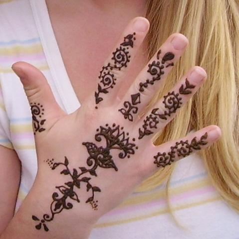Henna Tattoos on Henna Tattoos   Fashion 2013