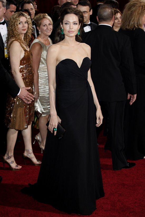 Angelina Jolie Oscar Dresses. Past Academy Award Looks
