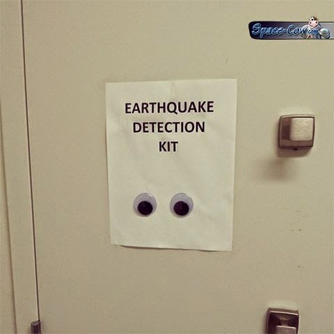 funny earthquake things picture