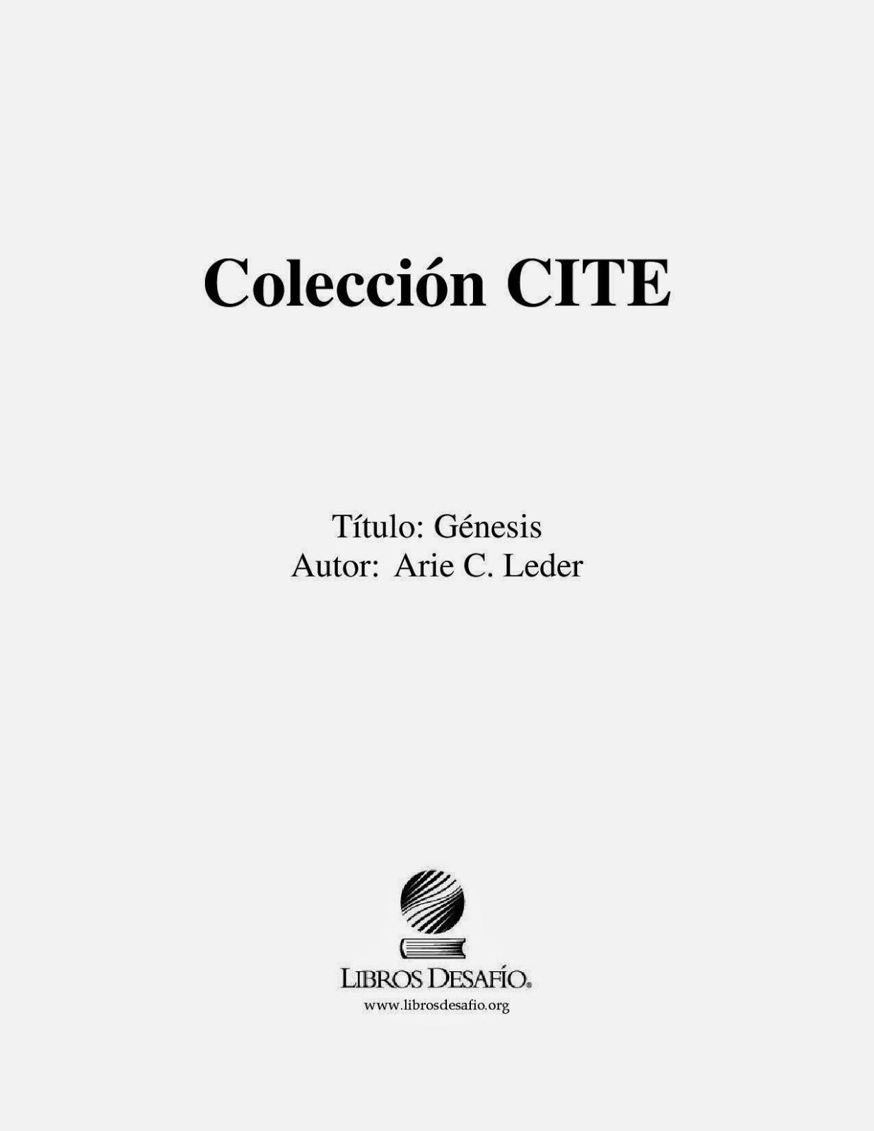 Arie C. Leder-Génesis-