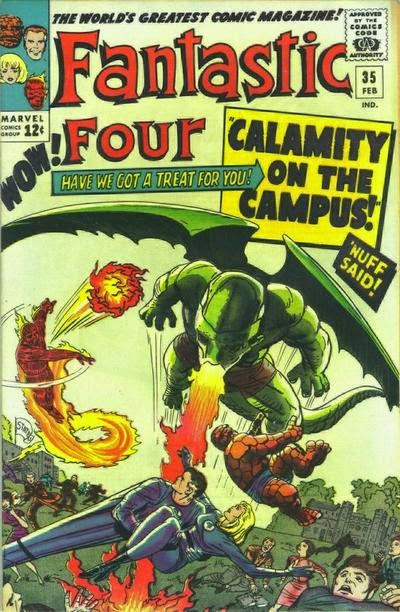 Fantastic Four #35, Dragon Man and Diablo