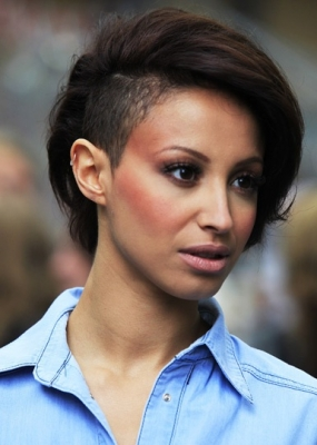 Short Hairstyles for Women with Shaved Sides