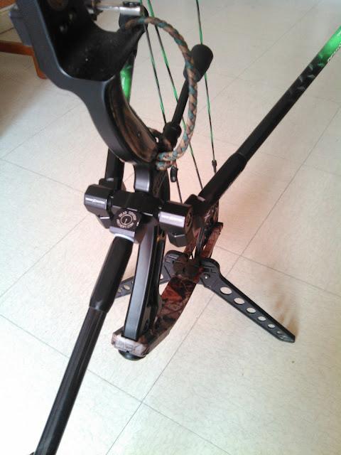 Les Stabilisations Dead Center Archery - La gamme Diamond Series IMG_20160312_180033