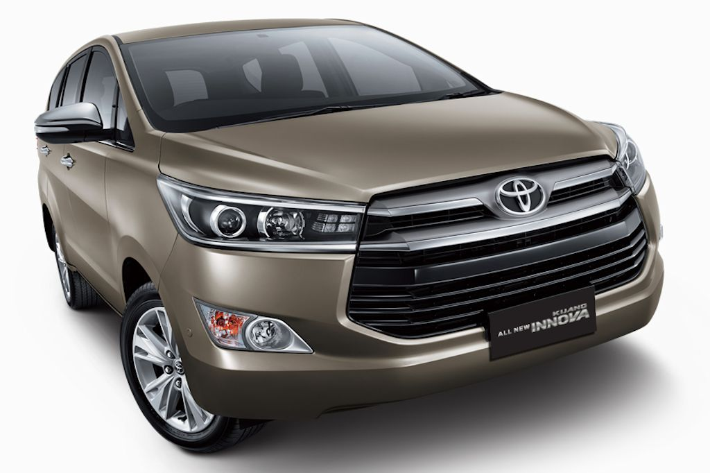 Toyota Launches All New 2016 Innova In Indonesia W Video