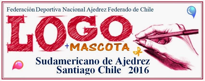 PARTICIPA EN LA CONFECCION DEL LOGO Y MASCOTA DEL SUDAMERICANO DE AJEDREZ SANTIAGO CHILE 2016
