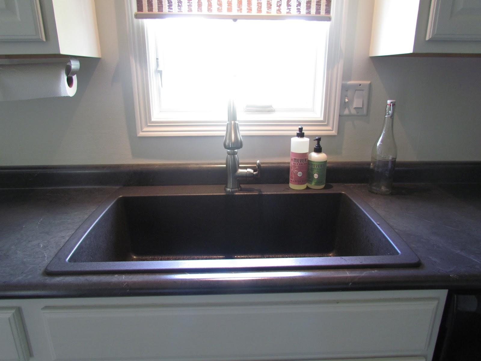 Cleaning My Blanco White Kitchen Sink