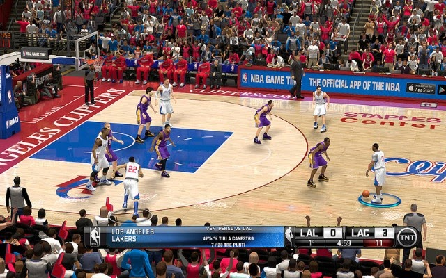 Clippers HD Court | NBA 2K14 PC Mod