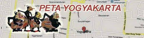 peta yogyakarta - panduan jalan-jalan ke jogja