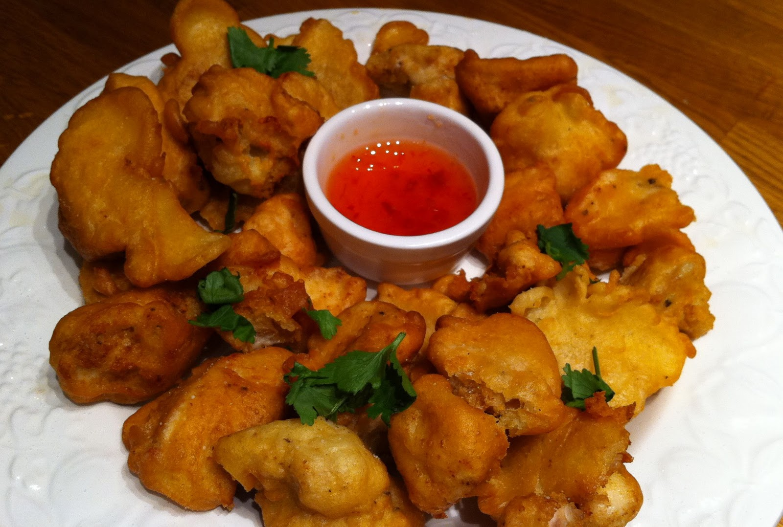 how to make chicken nuggets without eggs