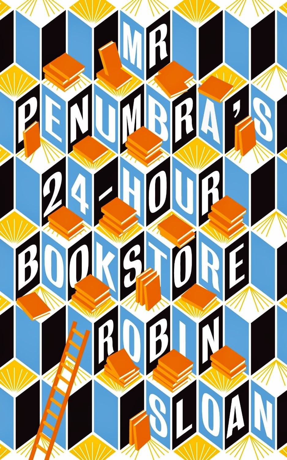 Mr Penumbra's 24-Hour Bookshop as uplifting reading