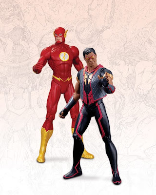 DC Collectibles 52 Flash & Vibe Figure 2-Pack