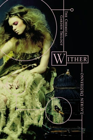 "Review of Wither by Lauren DeStefano - you know how they say ""Don't judge a book by its cover""? LISTEN TO THAT."