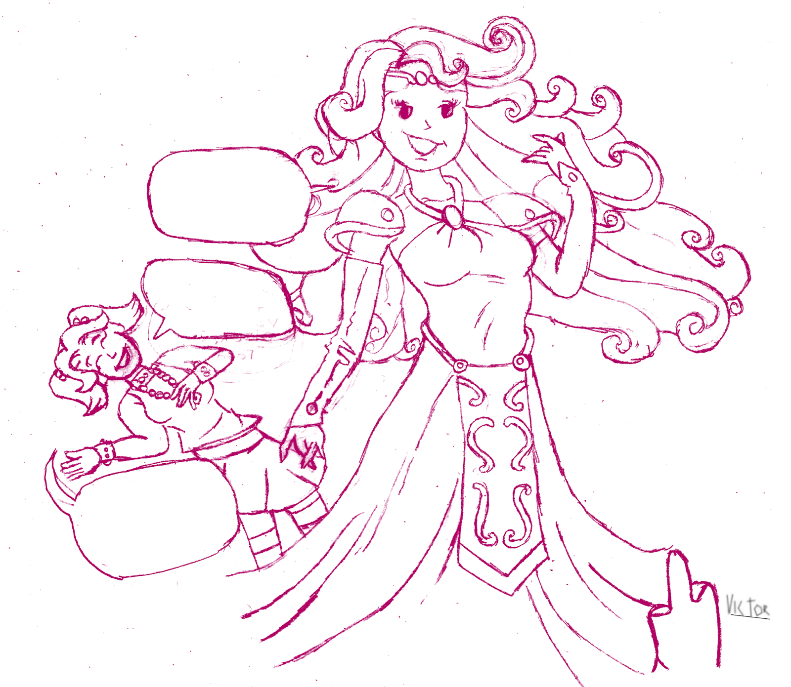 Desenho por Turma da Mônica Jovem