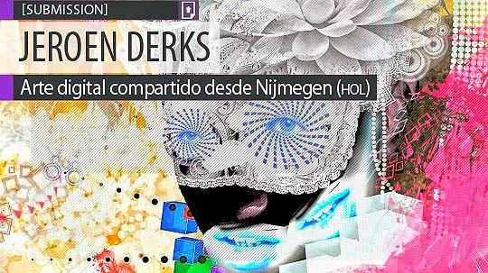 Pintura digital. Candy-shop de JEROEN DERKS