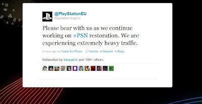 PSN wieder offline