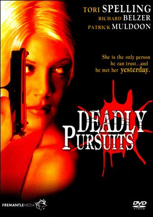DVD cover Deadly Pursuits 1996 movieloversreviews.blogspot.com