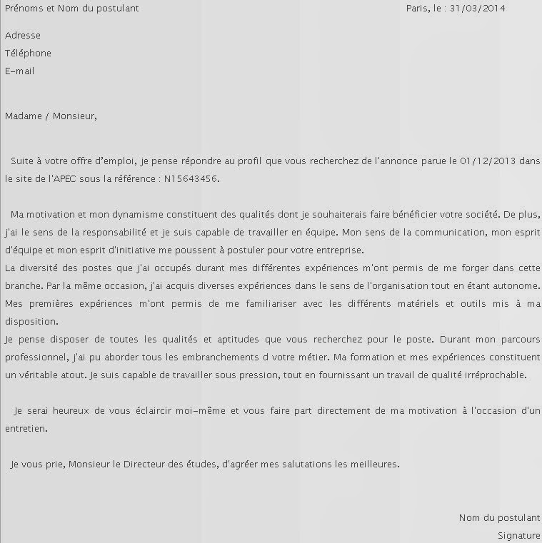 lettre de motivation pret a porter lettre de motivation vendeuse