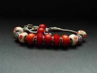 pandorka - zestaw czerwony (komplet)