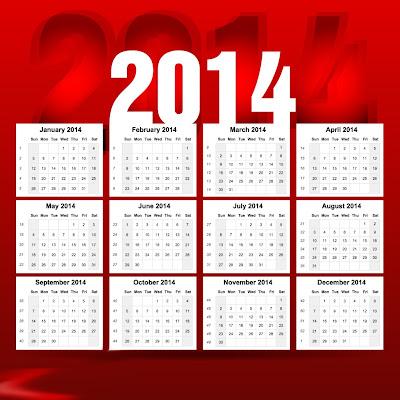 Kalender Tahun 2014 Hari Libur Dan Cuti Bersama di bawah ini