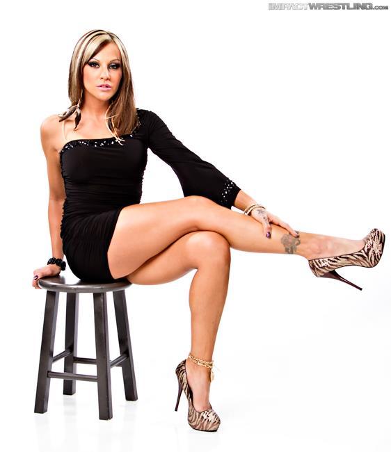 Velvet Sky Showing Off Her Sexy Legs! ~ TNA Wrestling News