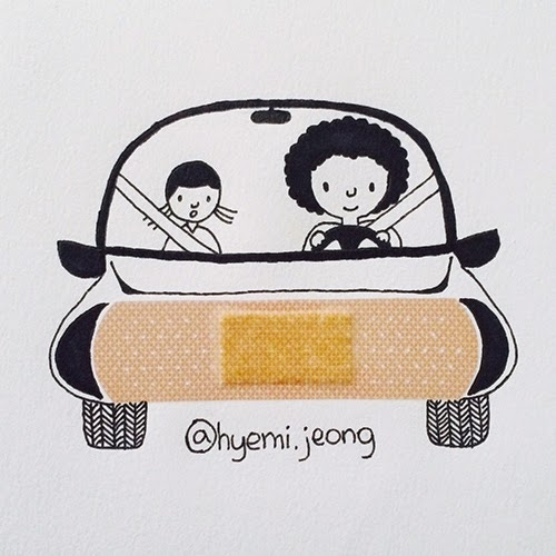 02-Car-Hyemi-Jeong-Everyday-Things-to-Draw-With-www-designstack-co