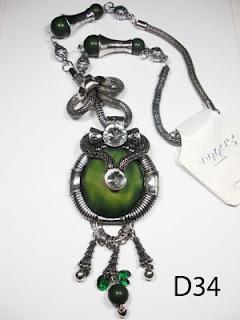 kalung aksesoris wanita d34