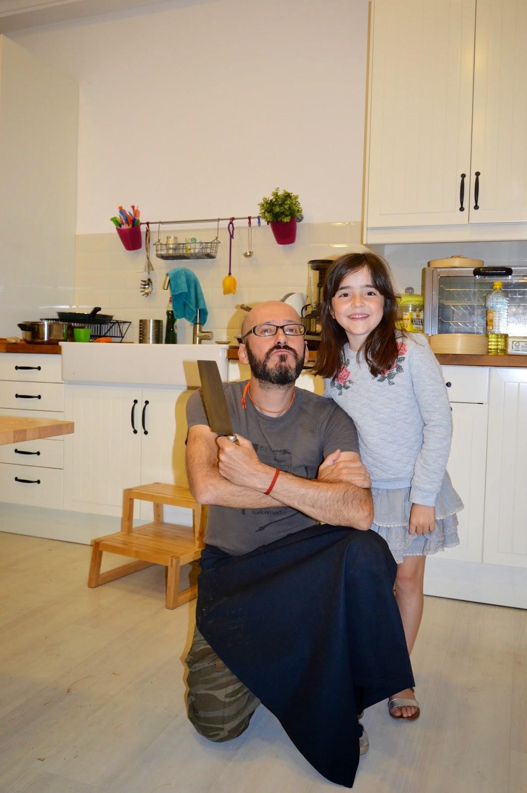 Taller de Cocina Asiática con Alex Zurdo en La Cocinita de Chamberí