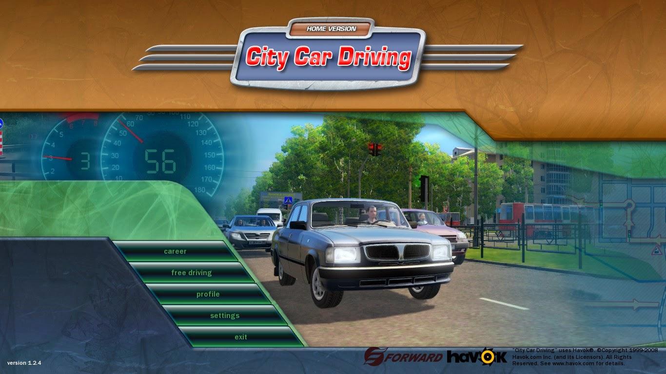 تحميل لعبة city car driving