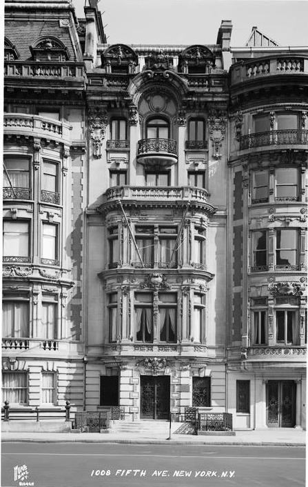 Daytonian in manhattan the lost 1901 wm hall mansion for New house hall